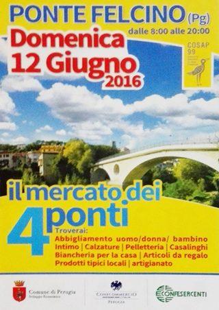 Mercato dei 4ponti - Ponte Felcino